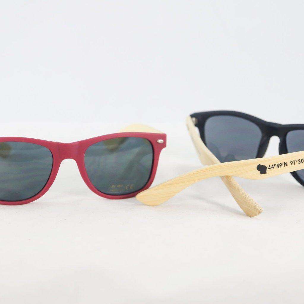Volume One Wood Sunglasses - EC Coordinates