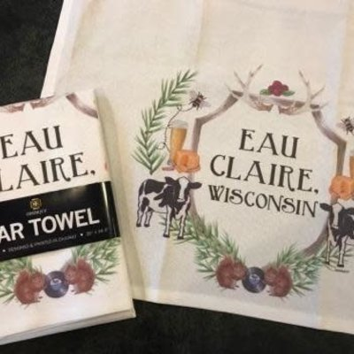 dishique Eau Claire Crest Bar Towel