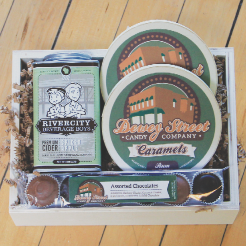 Volume One Gift Basket - Sweet Treats