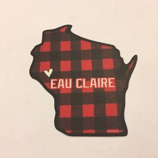Volume One Sticker - Buffalo Plaid WI