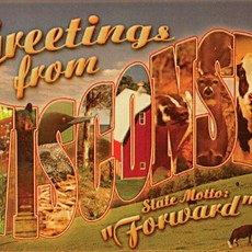 Volume One Greetings from Wisconsin Magnet