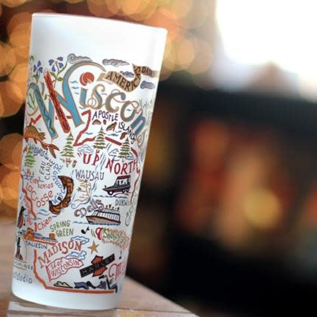 Volume One Frosted Wisconsin Tumbler