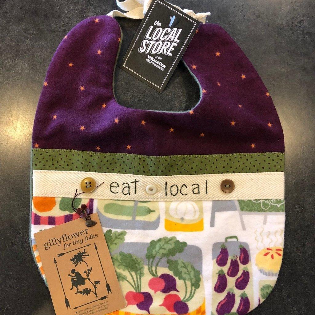 Deb Christenson Bib - Eat Local