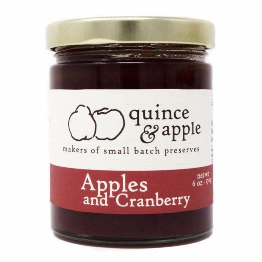 Quince & Apple Preserves - Apple & Cranberry (6 oz.)