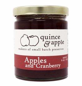 Quince & Apple Preserves - Apple & Cranberry (6 oz.)