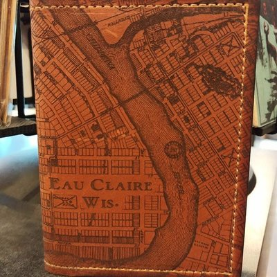 Tactile Craftworks Eau Claire Passport Wallet