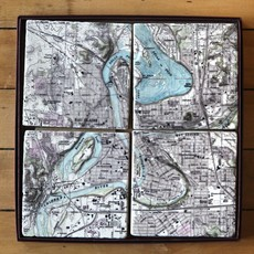 Volume One Marble Coaster - EC/Chippewa River 4-Pack