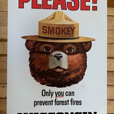 Volume One WI State Parks Smokey Bear Poster (16x24 Giclee)