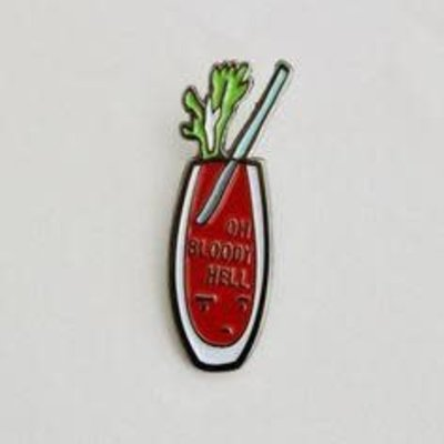 ILootPaperie Lapel Pin - Bloody Mary
