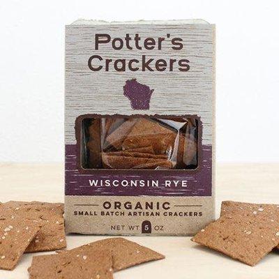 Potter's Crackers Potter's Crackers: Wisconsin Rye (5 oz.)