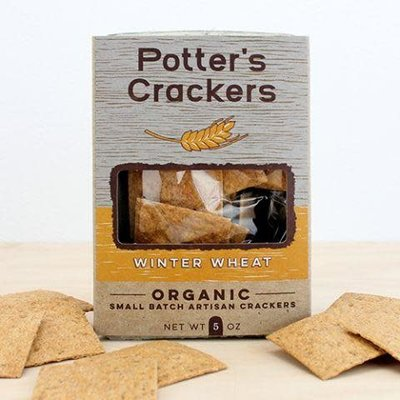 Potter's Crackers Potter's Crackers: Winter Wheat (5 oz.)