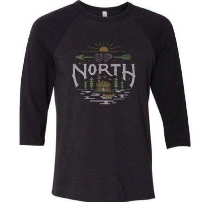 Orchard Street Apparel Up North Tee - Black