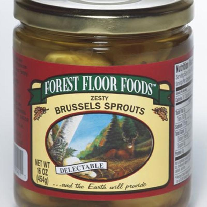 Forest Floor Foods Forest Floor Foods - Zesty Brussel Sprouts (16 oz.)