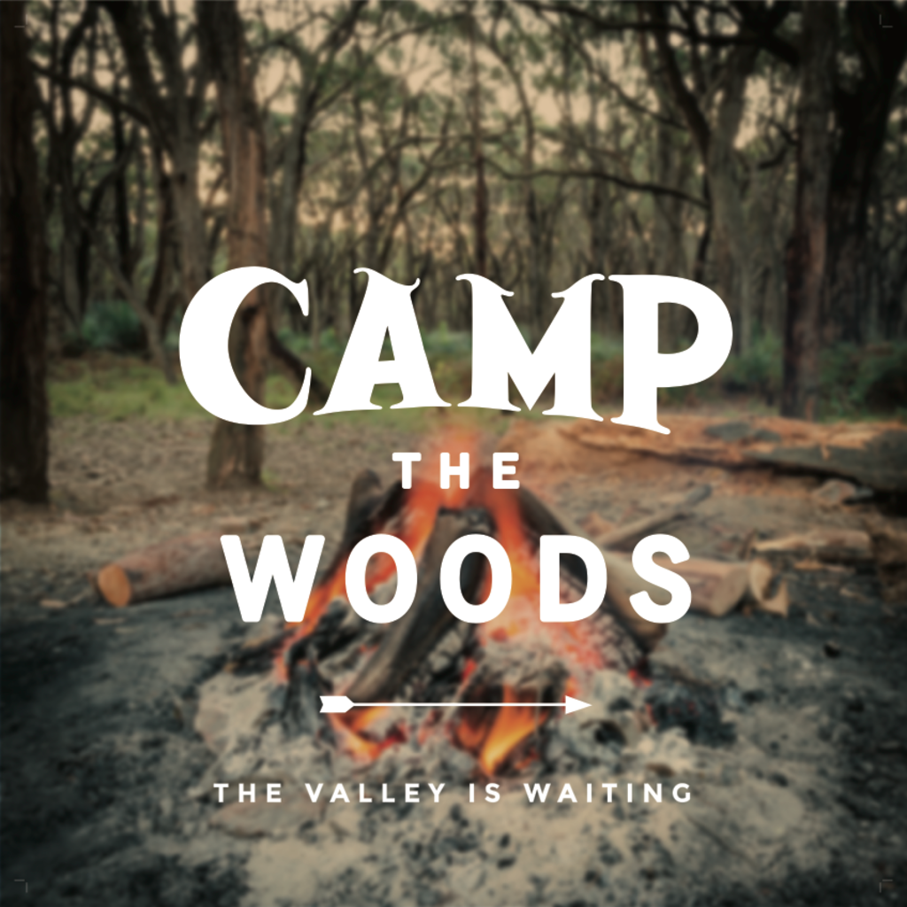 Volume One Camp the Woods Print - 12x12