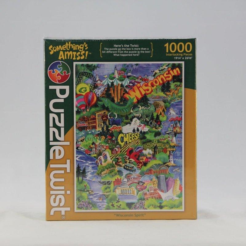 Puzzle Twist Wisconsin Spirit Jigsaw Puzzle