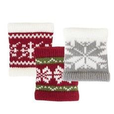 Volume One Drink Sleeve / Knit Koozie - Sweater (Assorted)