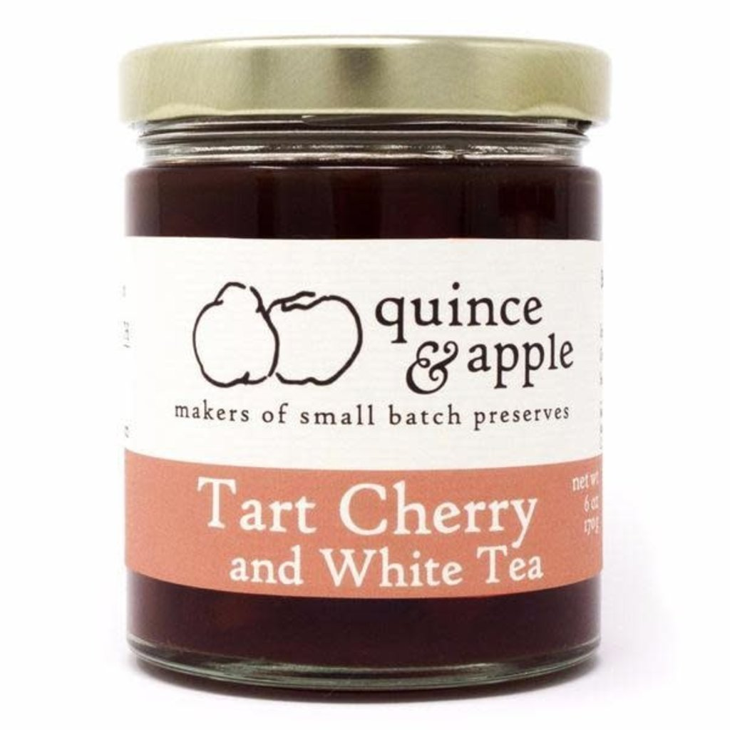 Quince & Apple Preserves - Tart Cherry & White Tea (6 oz.)