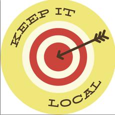 Volume One Sticker - Keep It Local