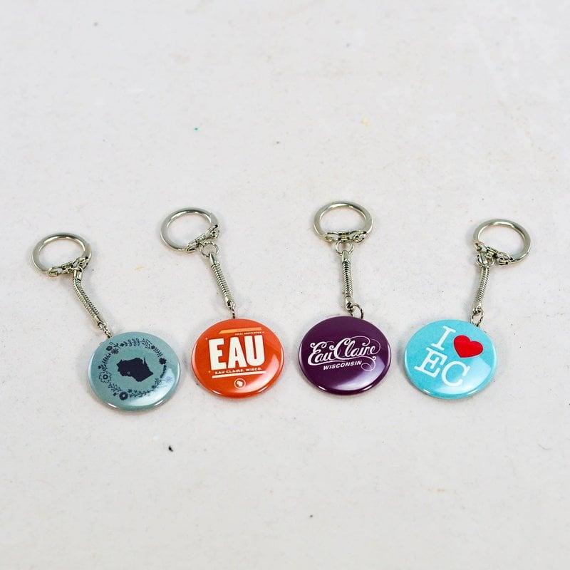 Volume One Keychain - I Heart EC