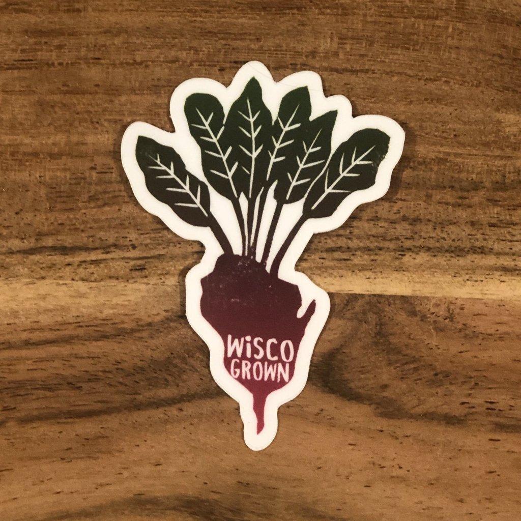 Anthology Sticker - Wisco Grown Sticker