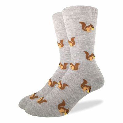 Good Luck Sock Crew Socks - Squirrels