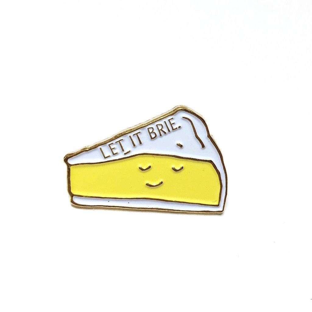 ILootPaperie Lapel Pin - Let it Brie