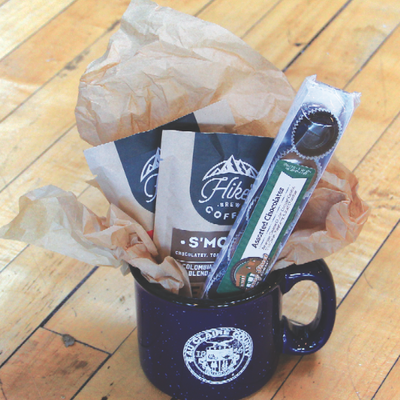 Volume One Gift Basket - The Rise & Grind