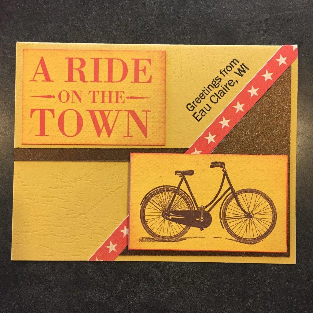 Cari Raynae Bike Greeting Card