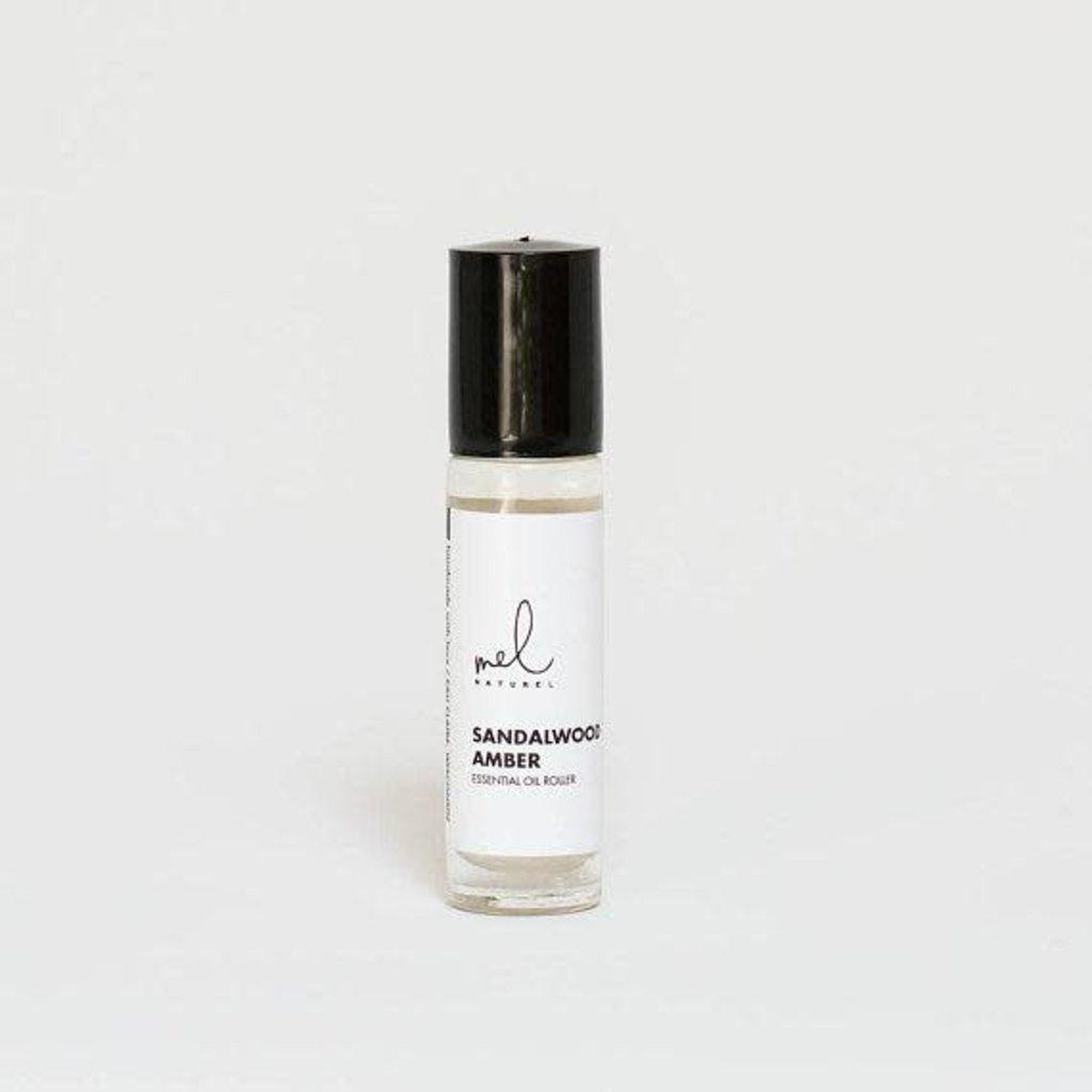 Melnaturel Fragrance Roller - Sandalwood Amber