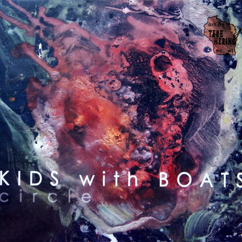Kids With Boats Circle