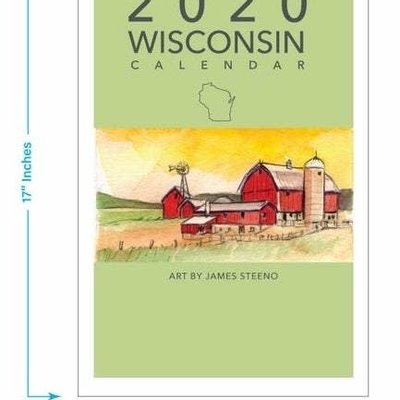 James Steeno Wisconsin Calendar 2020