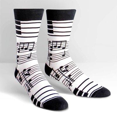 Volume One Crew Socks - Music