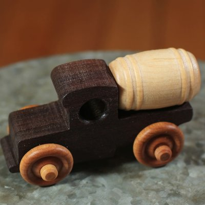 Hower Toys Hower Toys - Barrel Truck Wooden Toy