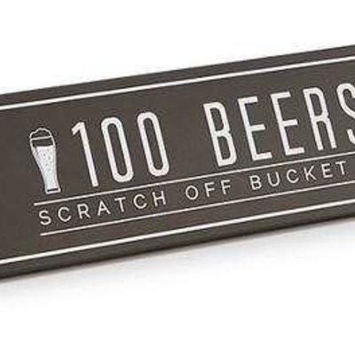 Volume One Bucket List Poster - 100 Beers