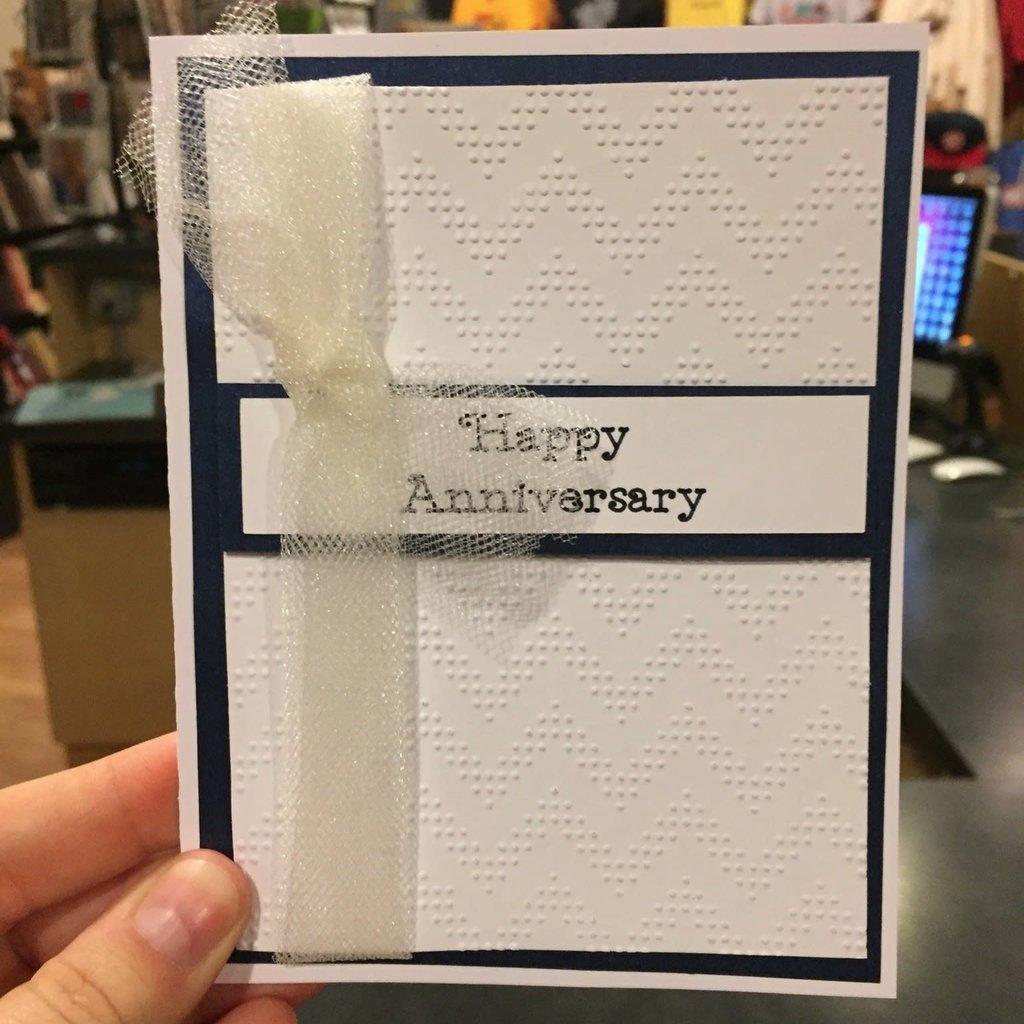 Gazelle Sentiments Anniversary Greeting Card