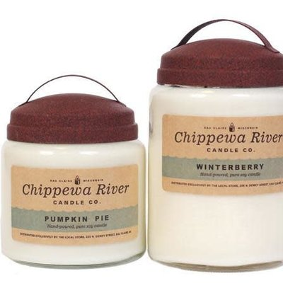 Chippewa River Candle Co. Mulberry Large Apothecary Jar Candle