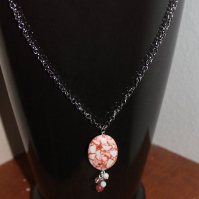 Arabella Designs Beaded Pendant