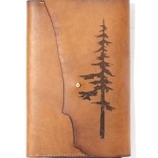 Tactile Craftworks Park (Tree) Leather Journal