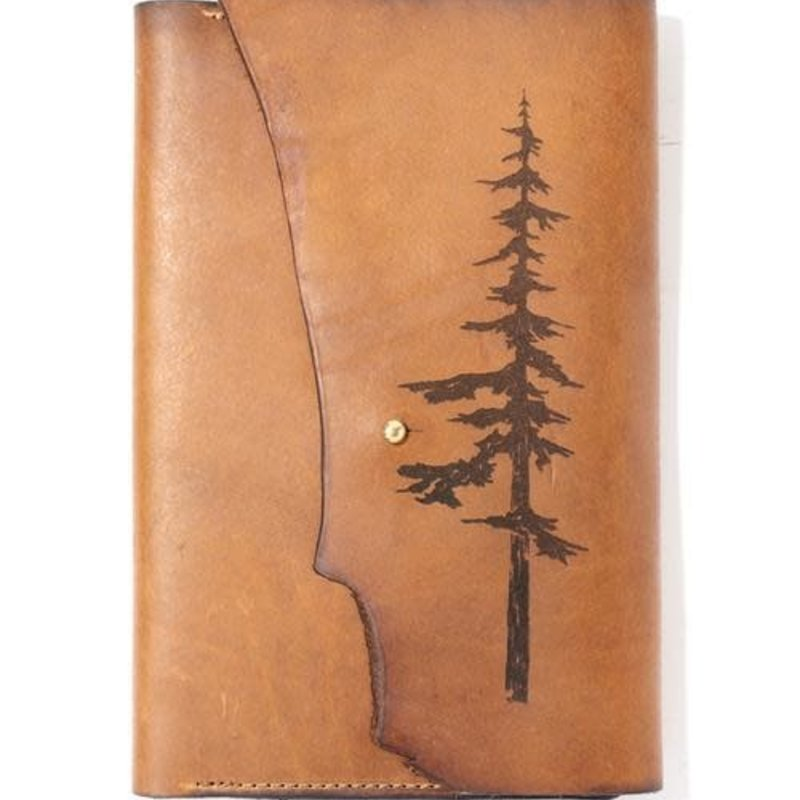 Tactile Craftworks Park (Tree) Leather Journal