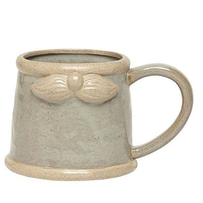 Volume One Ceramic Gnome Mug (Gray)