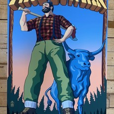 Volume One Paul Bunyan Wisconsin Print (16x24 Giclee)