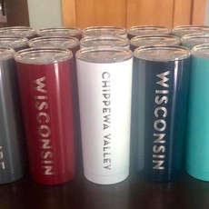 Iverson Custom Coatings Wisconsin Tumbler 20 oz (Assorted Colors)