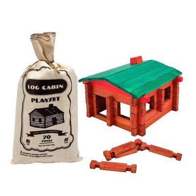 Volume One Log Cabin Play Set