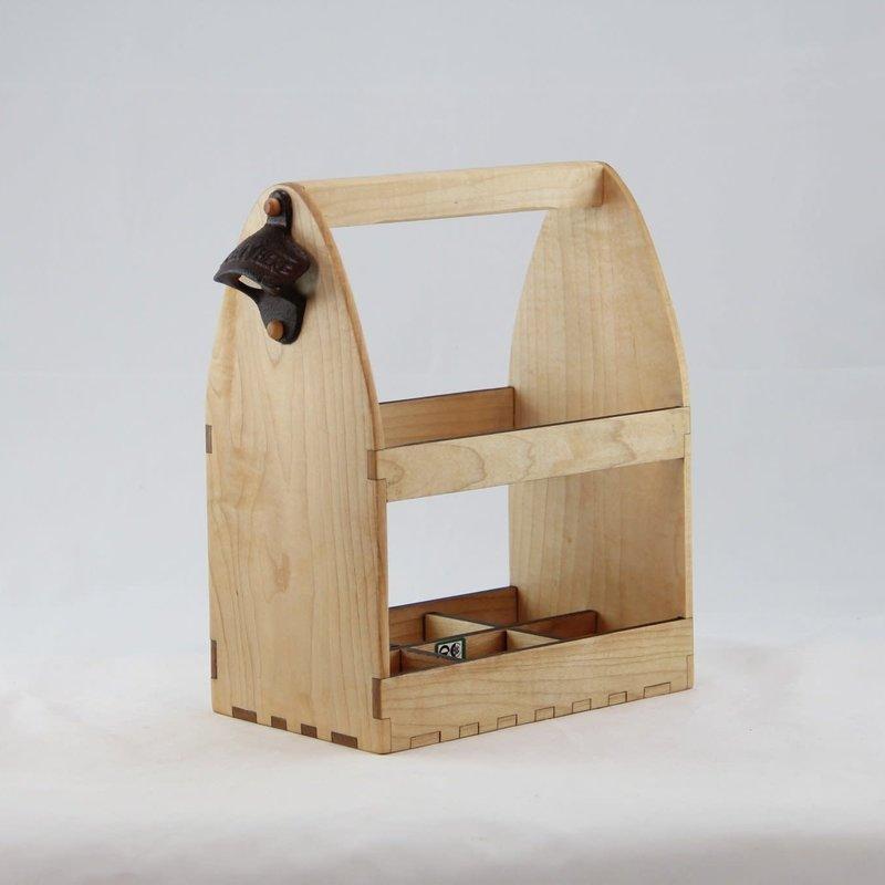 Eco Urban Timber Beer Caddy - Original