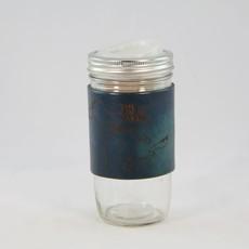 Tactile Craftworks Leather Travel Mug - Great Lakes Blue (24 oz)