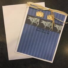Cari Raynae Cow Cheese Greeting Card