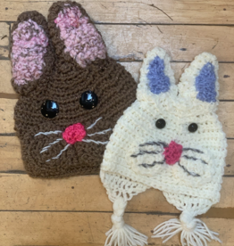 Cindy Knapmiller Knit Kids Hat - Bunny