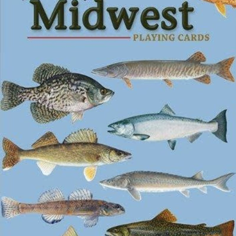 Stan Tekiela Playing Cards - Fish of the Midwest