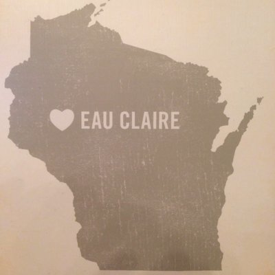 Lucius Art Wood Block Wall Art - (Eau Claire, WI) 11x14