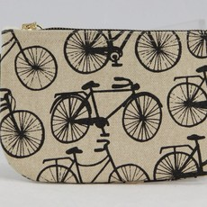 Volume One Zip Pouch - Small Bicycle